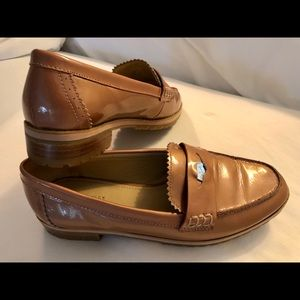 """Coach """"Peyton"""" patent leather loafers"""